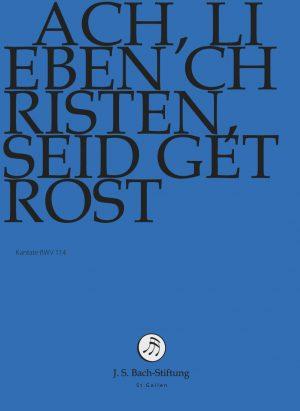 J.S.Bach-Stiftung St. Gallen Lutz BWV114 DVD 2018