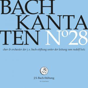 J.S.Bach-Stiftung St. Gallen CD 28 Lutz