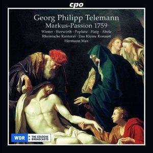Telemann Markus-Passion 1759 Max