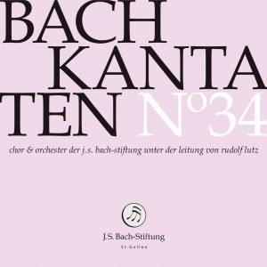 J.S.Bach-Stiftung St. Gallen CD 34 Lutz